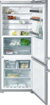 двухкамерный холодильник Miele KFN 14947 SDE ed cs