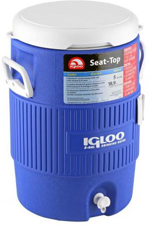 сумка-холодильник Igloo 10 Gallon Seat Top Blue