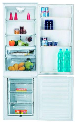 встраиваемый двухкамерный холодильник Candy CKBC 3180 E