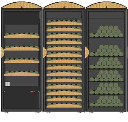 винный шкаф Vinosafe VSM2-3F