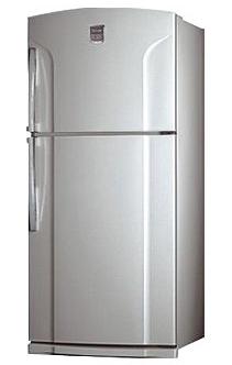 двухкамерный холодильник Toshiba GR-M74RD MS