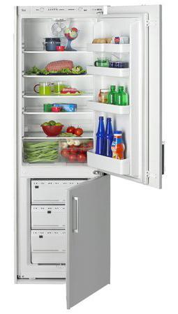 встраиваемый двухкамерный холодильник TEKA CI 340