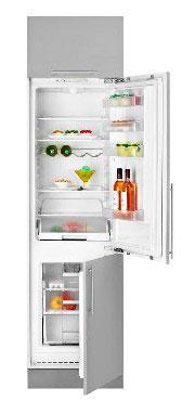 встраиваемый двухкамерный холодильник TEKA TKI 2325