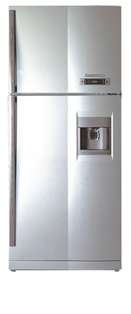двухкамерный холодильник Daewoo FR 590 NW IX