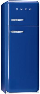 двухкамерный холодильник Smeg FAB30BL7