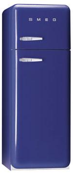 двухкамерный холодильник Smeg FAB30BLS6