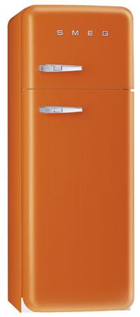 двухкамерный холодильник Smeg FAB30O7