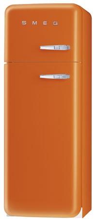 двухкамерный холодильник Smeg FAB30OS7