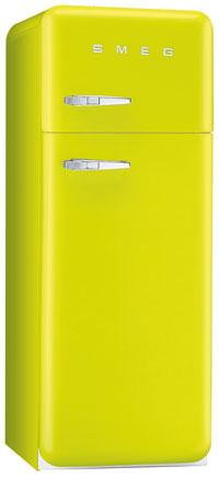 двухкамерный холодильник Smeg FAB30VE7