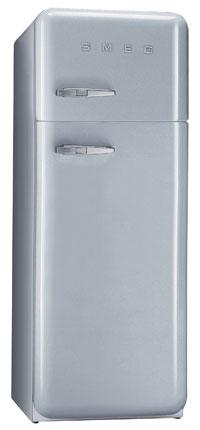 двухкамерный холодильник Smeg FAB30X7