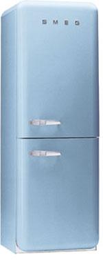 двухкамерный холодильник Smeg FAB32AZS6