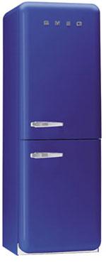 двухкамерный холодильник Smeg FAB32BLS6