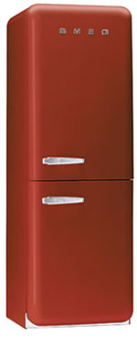 двухкамерный холодильник Smeg FAB32R6