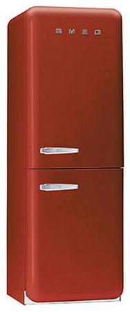 двухкамерный холодильник Smeg FAB32R7