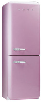 двухкамерный холодильник Smeg FAB32ROS6