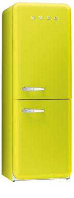 двухкамерный холодильник Smeg FAB32VE6