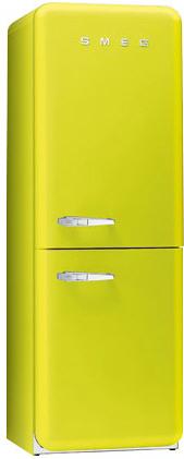 двухкамерный холодильник Smeg FAB32VE7