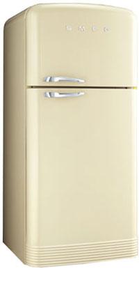 двухкамерный холодильник Smeg FAB40P