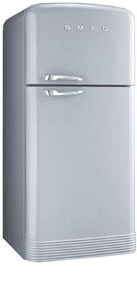 двухкамерный холодильник Smeg FAB40X