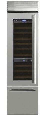 морозильники с винным шкафом Smeg WF366RDX