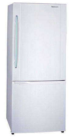 двухкамерный холодильник Panasonic NR-B651BR Silver