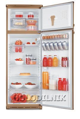 двухкамерный холодильник Dako DD-360 (бежевый)