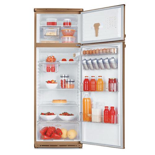 двухкамерный холодильник Dako Mabe DD - 360 бежевый