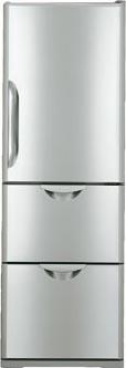 двухкамерный холодильник Hitachi  R-S37SVUWGR