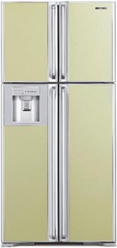 двухкамерный холодильник Hitachi  R-W660EU9GLB