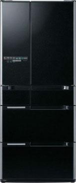 Многокамерный холодильник Hitachi  R-A 6200 AMU XK black