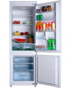 встраиваемый двухкамерный холодильник Hansa BK311.3 AA