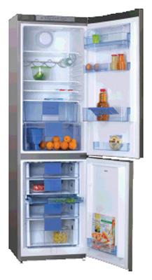 двухкамерный холодильник Hansa FK350MSX