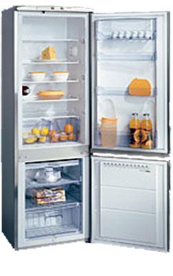 двухкамерный холодильник Hansa RFAK314iAFP Inox