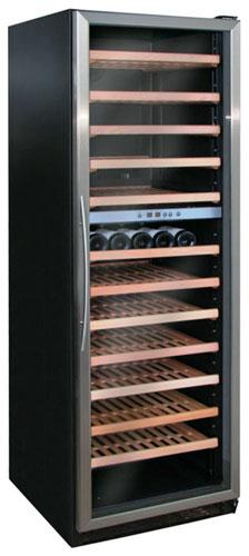 встраиваемый винный шкаф Climadiff CV134IXDZ