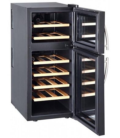винный шкаф Climadiff DOPIOVINO (wood)