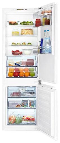 встраиваемый двухкамерный холодильник BEKO  BCH 130000