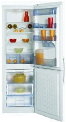 двухкамерный холодильник BEKO  CDA 34200