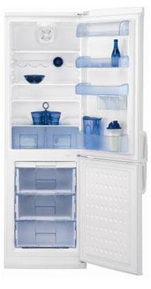 двухкамерный холодильник BEKO  CDK 34300