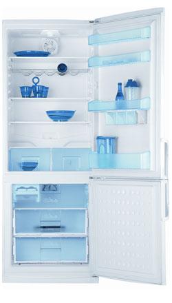 двухкамерный холодильник BEKO  CHE 42200
