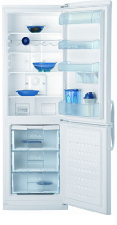 двухкамерный холодильник BEKO  CNE 32100