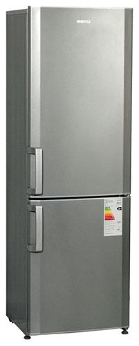 двухкамерный холодильник BEKO  CS338020X