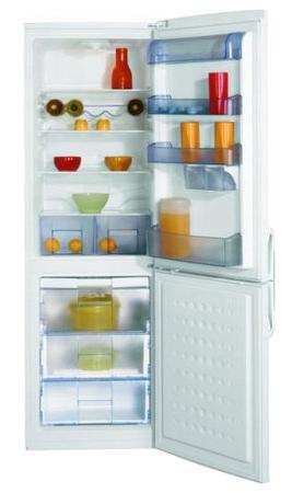 двухкамерный холодильник BEKO  CSA 34023 (S)