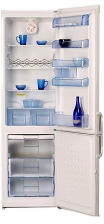 двухкамерный холодильник BEKO  CSA 38000