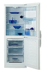 двухкамерный холодильник BEKO  CSE 34020