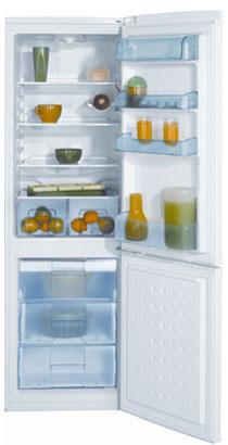 двухкамерный холодильник BEKO  CSK 31000 S