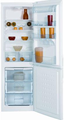 двухкамерный холодильник BEKO  CSK 34000 S