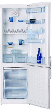 двухкамерный холодильник BEKO  CSK 38000 S