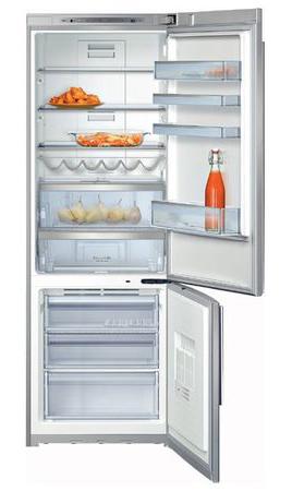 двухкамерный холодильник Neff  K5890X4