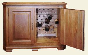 винный шкаф OAK OAK-W86W