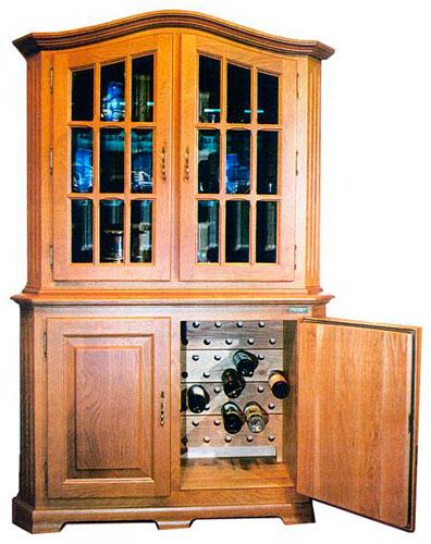 винный шкаф OAK W80W Lux